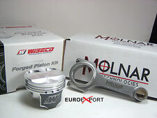 Honda CIVIC SOHC 96-00 D16Y8  10.5 compres 76mm Flat Top Pistons & Molnar Rods