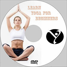 LEARN YOGA FOR BEGINNERS VIDEO TRAINING DVD