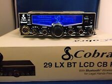 COBRA 29 LXBT BLUETOOTH, CB RADIO PRO TUNED, MOSFET,SCHOTTKY RECEIVE, ECHO!!!!