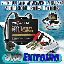 BATTERY MAINTAINER & CHARGER AC250B PROJECTA 12V BOAT MOTORCYCLE VINTAGE CAR