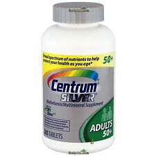 Centrum Silver MultiVitamin MultiMineral Complete Vitamin 285 Tabs Adults   50