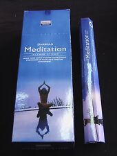DARSHAN INCENSE STICKS 6 HEXAGONALS BOXES = 120 STICKS MEDITATION SCENT