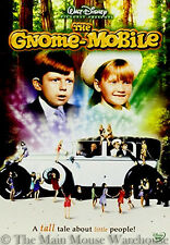 Disney The Gnome Mobile Northern California Redwood Forest Gnomes Movie on DVD