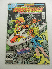 Firestorm #41 VF+ 8.5 Crisis Cross Over Harbinger November 1985 DC Comics
