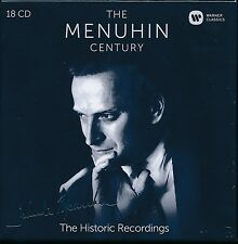 The Menuhin Century The Historic Recordings 18-disc CD box set NEW