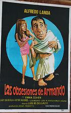 Used - Cartel de Cine  LAS OBSESIONES DE ARMANDO  Vintage Movie Film Poster