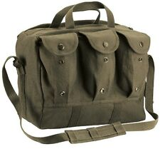 Tool Bag OD GREEN Cotton Canvas Military Style Equipment Mag Bag Tool Bag 8158