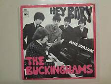 """BUCKINGHAMS:Hey Baby(They're Playing Our Song)-& Our Love-Holland 7"""" 67 CBS PSL"""