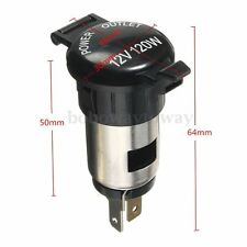 12V 120W Cigarette Lighter Socket Power Plug Outlet for Car Motorbike Boat Truck