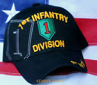 1ST INFANTRY DIVISION HAT US ARMY CAP WOWAH FORT RILEY KANSAS BIG RED ONE 1