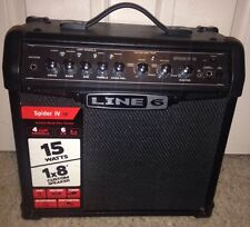 Line 6 Spider IV 15 15W Guitar Amp - ONLY USED ONCE!