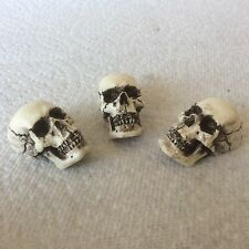 Made in USA Skull Guitar Pots tuning Knob fits Fender Strat Stratocaster 09-PK3