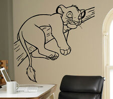 Lion King Simba Vinyl Decal Disney Wall Vinyl Sticker Home Interior Kids Room 16