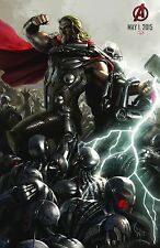 Avengers 2 Age of Ultron (2015) Movie Poster (24x36) - Thor, Hemsworth Comic Con