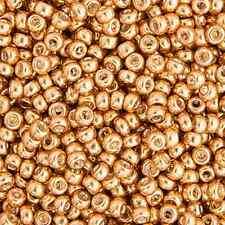 20 Grams Japanese Miyuki 11/0 Seed Beads - Gold Galvanized - 2mm (11-1052)