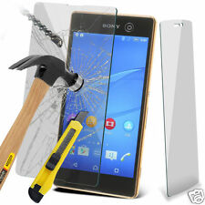100% Genuine Tempered Glass Film Screen Protector for Sony Xperia M5