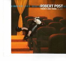 (FR882) Robert Post, There's One Thing - 2005 DJ CD