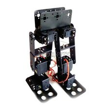 6DOF Biped Robotic Educational Humanoid Robot Kit Servo Bracket Mechanical Arm