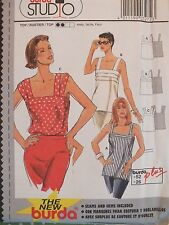 Easy & Lovely BURDA Studio 3272 Misses/Womens Tops PATTERN 8-26 UC