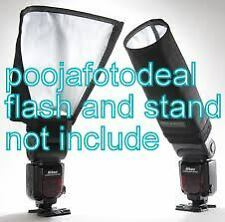 Universal Foldable Snoot Flash Beam Cloth Softbox Diffuser Tube for Canon Nikon