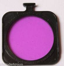 """Kodak 2.5"""" B&W Printing Poly Contrast Filter #3 Only - USED D67C"""