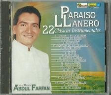 Paraiso Llanero 22 Abdul Farfan Latin Music CD New