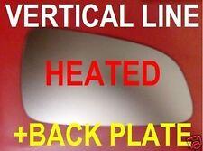 OPEL ASTRA H 04-08 AUßENSPIEGEL GLAS WEITWINKEL BEHEIZT + PLATTE RECHTS/LINKS