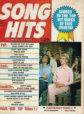 7/71 SONG HITS magazine DAVID CASSIDY  THE PARTRIDGE FAMILY
