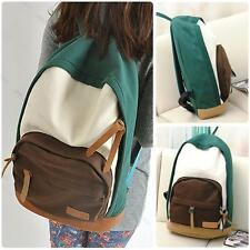 Fashion Women's Canvas Travel Satchel Shoulder Bag Backpack #G School Rucksack