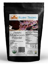 Reishi Mushroom Powder Organic 4:1 Extract STRONG 16 oz ~ 1 lb Free Ship
