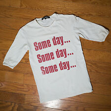 "Raf Simons SS02 ""Some Day..."" T-shirt"