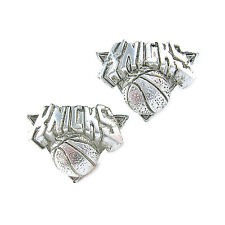 NBA Earrings New York Knicks Decorative Silver Jewelry