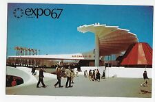 Expo 67 Montreal Air Canada Pavilion Vintage Postcard