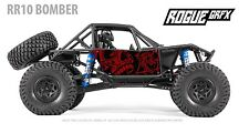Axial RR10 Bomber Body Graphic Wrap Skin- Muertos Skull