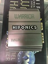 Hifonics WARRIOR HAWK Car Amp BRAND NEW IN BOX!!!