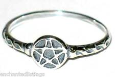 New- Sterling Silver Pentagram/Pentacle Ring Size 6 Wicca/Wiccan/Pagan