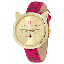 Boum Miaou Gold Dial Ladies Watch BM3205