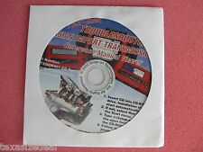 Snap On MT2500 MTG2500 Scanner Asian Transmission Ref Manual CD 2001 MT25006401