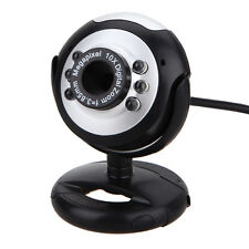 50.0 Mega 50M 6 Led USB Webcam Camera With Mic Microphone For Laptop PC Computer