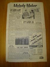 MELODY MAKER 1947 #745 JAZZ SWING LENA HORNE NAT ALLEN
