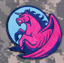 Mil-Spec Monkey Pegasus Unicorn Morale Patch Girly Hook Back