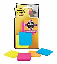 Post-it Super Sticky Full Adhesive Notes 2 in x 2 in size Rio de Janeiro Coll...