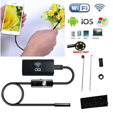 1m 8mm Wireless WIFI Endoscope Waterproof 1.0MP Camera For iPhone iOS Android