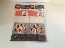 Lot of 2 Wilton Treat Bags With Ties Trick Or Treat Halloween 40 Bags Total NWT