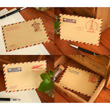 HOT European style 10PCS Sheets Mini Envelope Postcard Letter Storage Paper