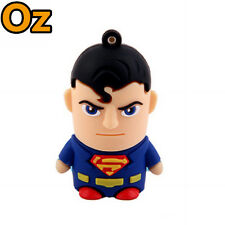 Superman USB Stick, 8GB 3D Quality Product USB Flash Drives WeirdLand