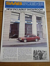 "SAAB SCENE MAGAZINE HOUSE MAGAZINE "" Brochure "" VOL 2 NO. 3 1979  jm"