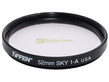 52mm. filtro Skylight 1A, Tiffen. Sky light filter.