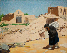 Ufer Walter The Washer Woman Print 11 x 14 #5920