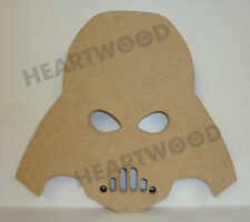 DARTH VADER HEAD IN MDF/198mm x 18mm/WOODEN SHAPE/FREESTANDING